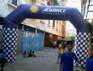 Balon Gate Advance 3 x 5